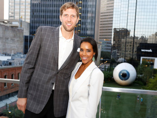 Dirk and Jessica Nowitzki