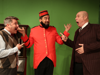 Rover Dramawerks presents A Comedy of Tenors