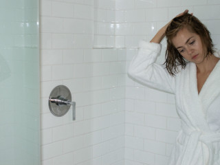 <i>Oh, I have to wash my hair</i>