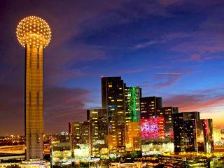Reunion Tower and Hyatt Regency Dallas