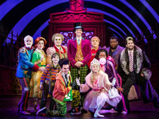 Touring cast of Charlie and the Chocolate Factory