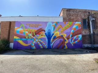 Houston Frost mural GONZO247