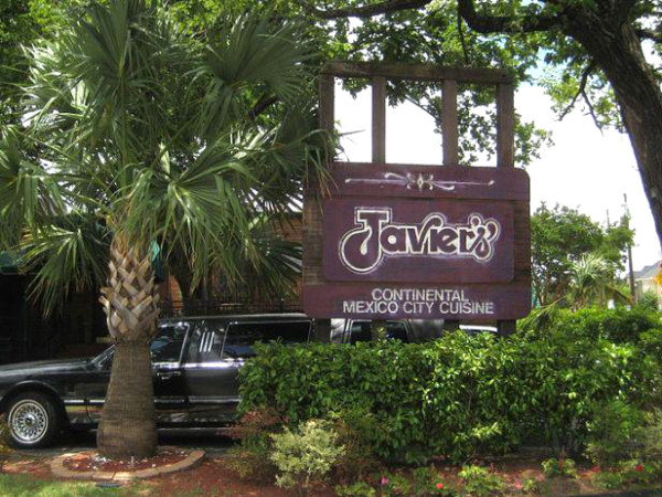 Javier's restaurant in Dallas