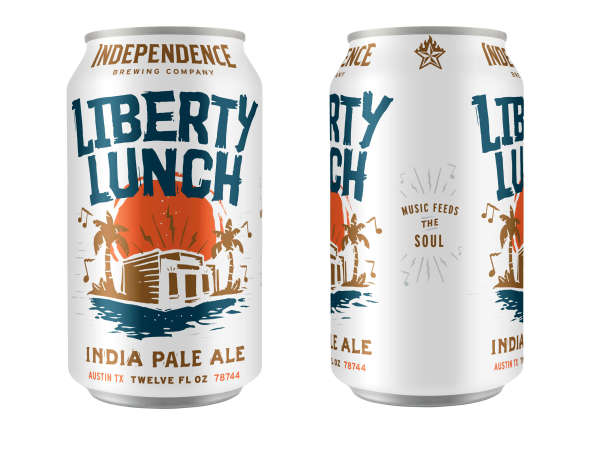 Independence Brewing Co Liberty Lunch IPA beer can