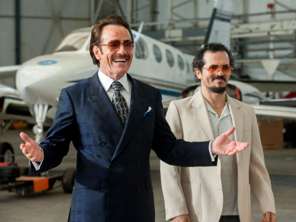 Bryan Cranston and John Leguizamo in The Infiltrator