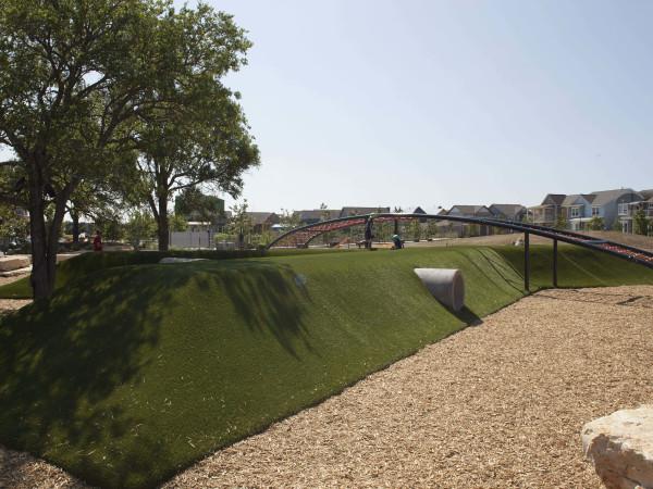John Gaines Park Mueller Austin playground