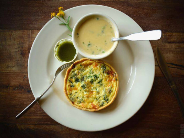 Liberty Bar San Antonio restaurant quiche soup special