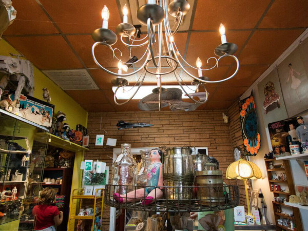 Piranha Vintage store in East Dallas