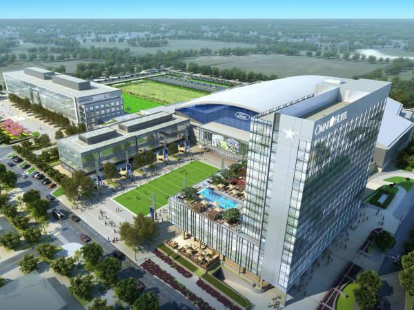 Omni Hotel, Dallas Cowboys, Frisco, Star