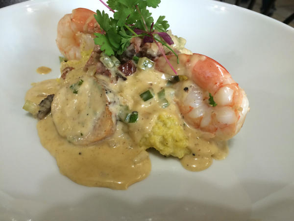 Kitchen 713 November 2014 shrimp dish