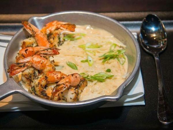 The General Public restaurant shrimp cauliflower grits