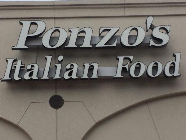 Ponzo's Italian Food exterior
