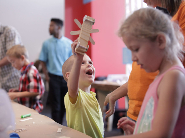 Build It! at Perot Museum of Nature and Science