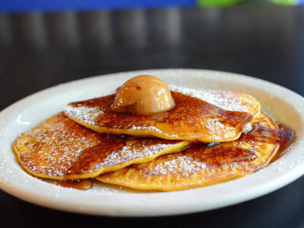 Pancakes at Cafe Brazil