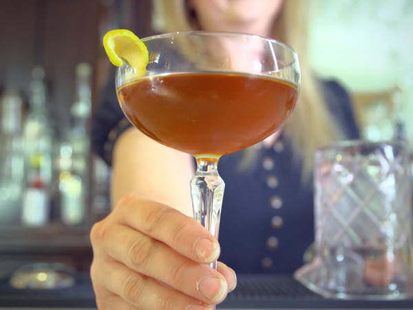 Run Forest Run cocktail from Houston bartender Judith Piotrowski
