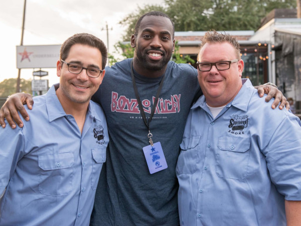 Southern Smoke Owen Conflenti, Whitney Mercilus, Chris Shepherd