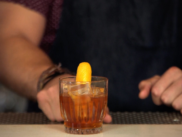 Old Forester Old Fashioned from Austin bartender Ethan Lane