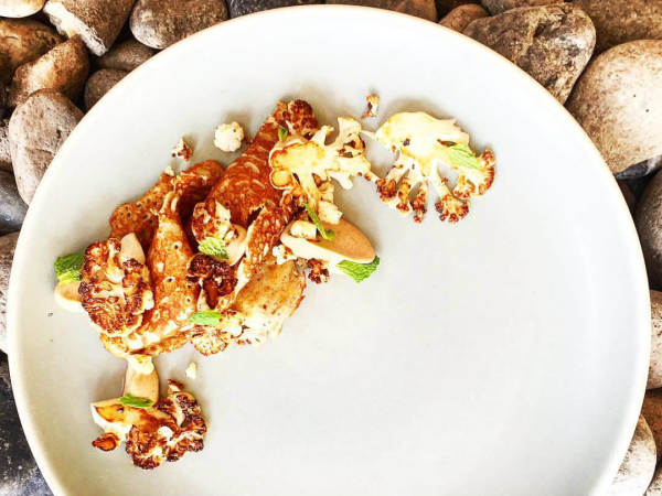 Caramelized cauliflower at FT33