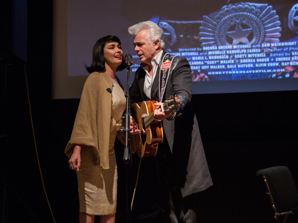 HCAF 2016 Opening Night-Celine Lee, Dale Watson;