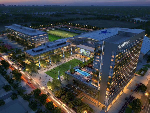 Omni Frisco, Star, Dallas Cowboys