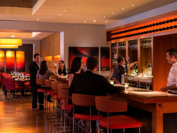 TRIO restaurant Austin interior