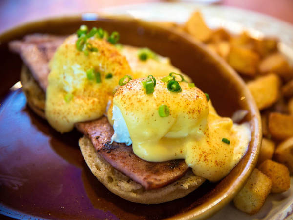 Another Broken Egg Cafe eggs Benedict