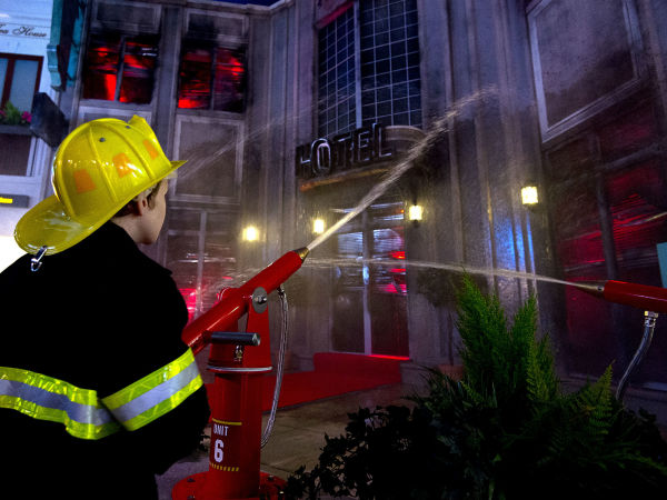 KidZania firefighter