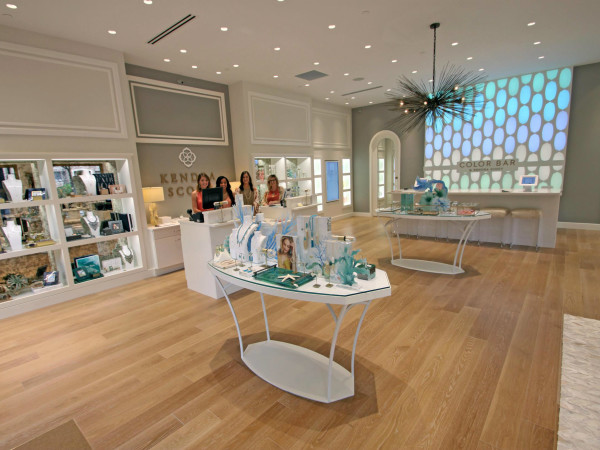Kendra Scott West Village Dallas store