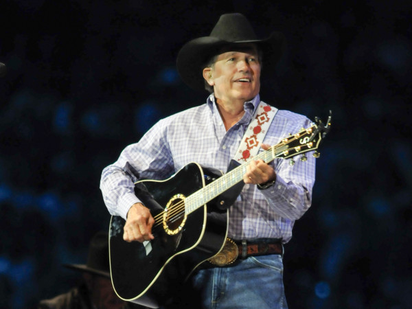 RodeoHouston,George Strait concert, March 2013