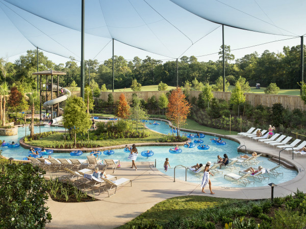 The Woodlands Resort, Lazy River