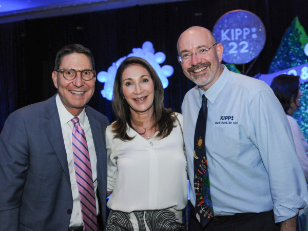 KIPP Houston dinner 4/16, Scott McClelland, Soraya McClelland, Mike Feinberg