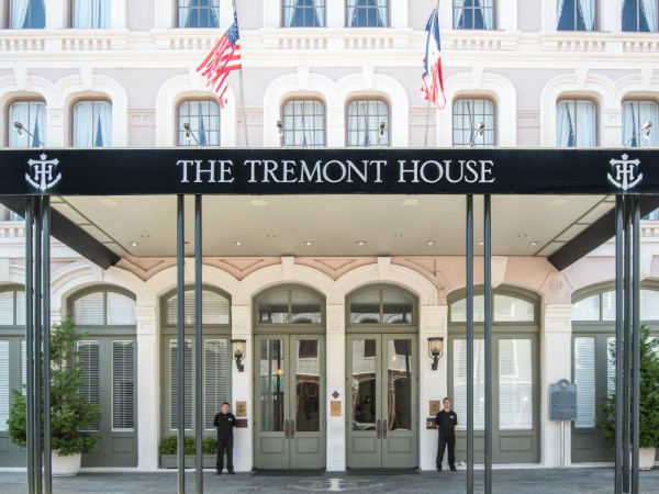 Tremont House hotel in Galveston
