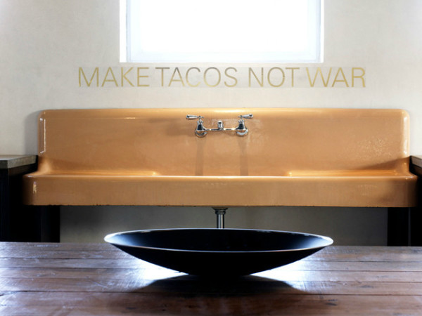 Houzz Texas style make tacos not war