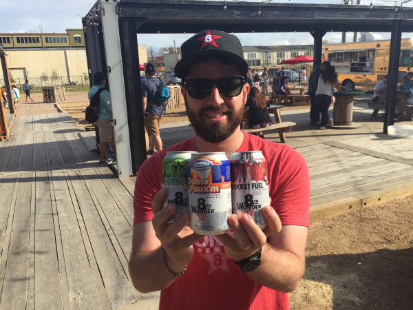 8th Wonder Brewery cans Ryan Soroka