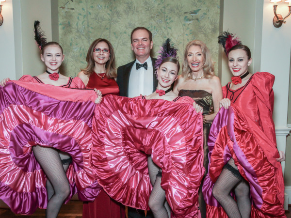 Champagne & Chocolat gala, Feb. 2016, Sally Moon Benz, Dr. Alan Bentz, Marie LeNotre