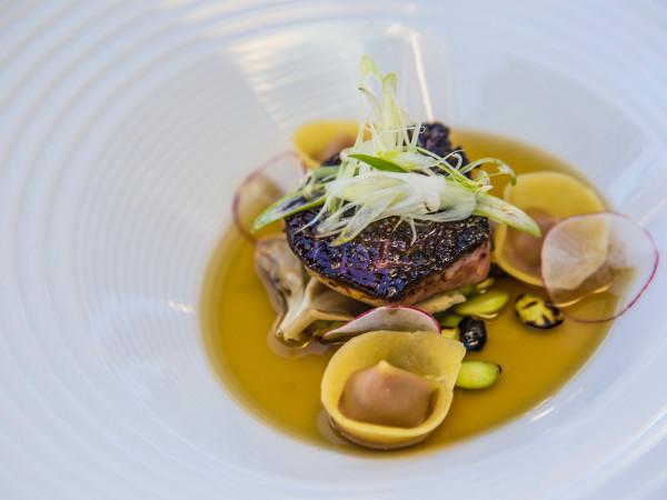 Cureight foie gras pho broth