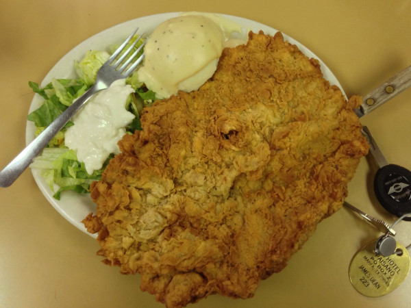 Tip Top Cafe San Antonio Chicken Fried Steak