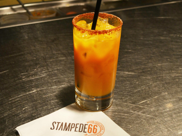 Passion-chile margarita at Stampede 66