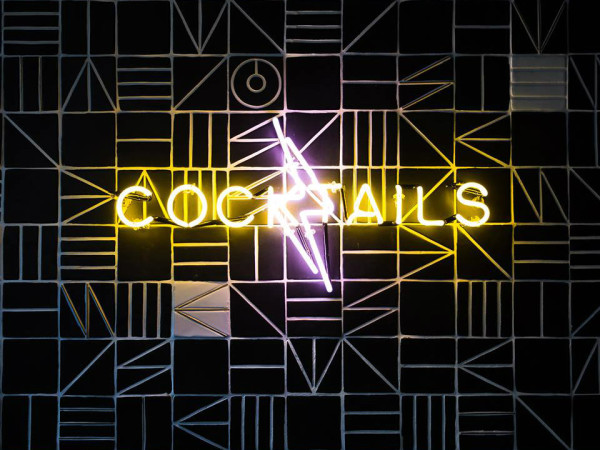 Midnight Rambler cocktails sign
