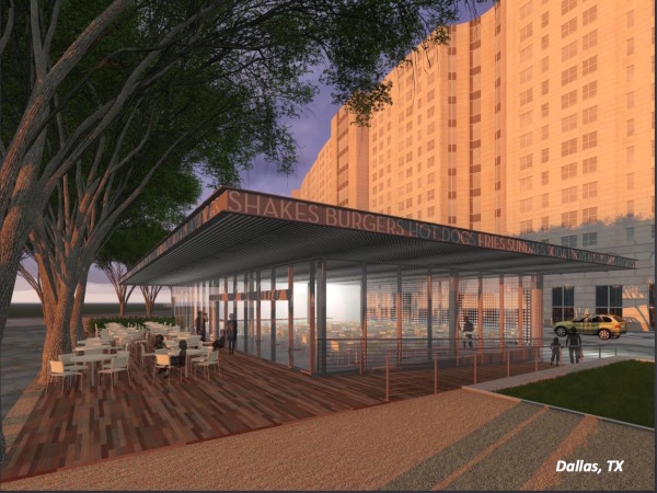 Shake Shack Dallas rendering