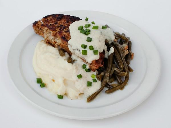 24 Diner Andrew Curren meatloaf dish