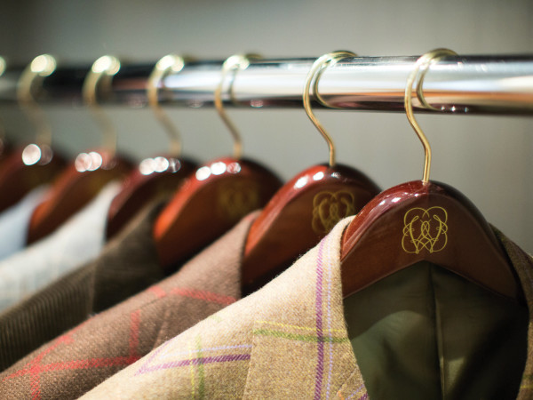 Monogrammed hangers