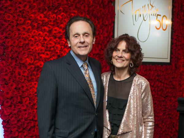 Tony's at 50 Tony Vallone, Donna Vallone
