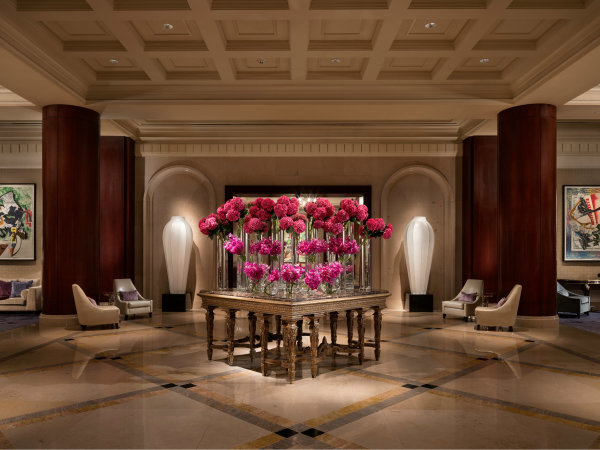 Ritz-Carlton, Dallas renovation lobby