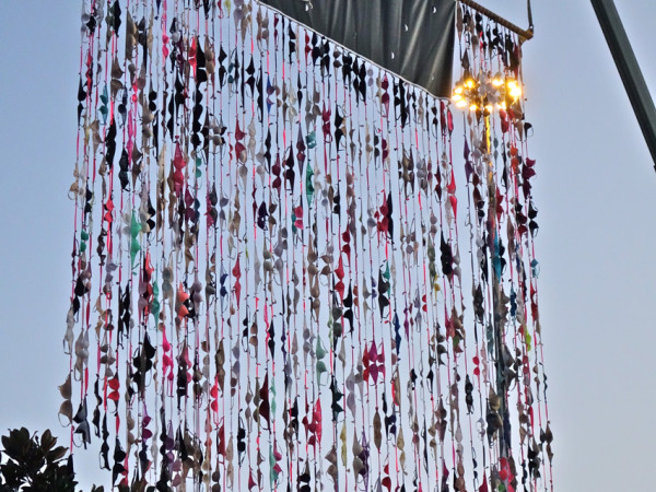 Wall of Bras KRBE Susan G Komen Breast Cancer