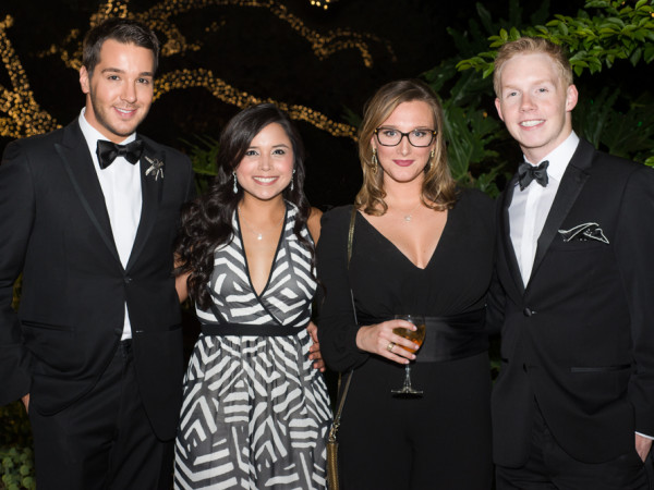 News, Barbara Bush Literacy YP gala, Lucas Somoza, Analicia Mireles, Jordan Powell, Edward Smart