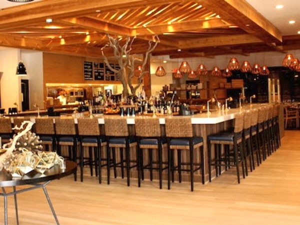 Houston, SaltAir Seafood Kitchen, August 2015, interior
