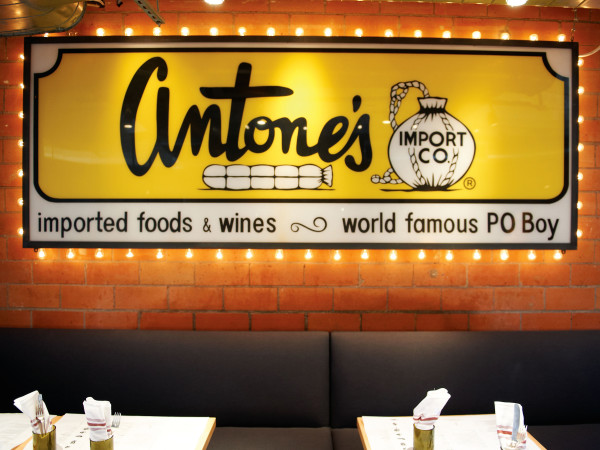 Houston, new happy hour deals, May 2017, Antone's sign at Pass and Provisions
