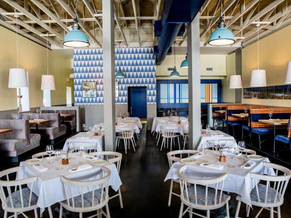 Alice Blue dining room