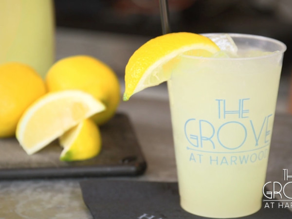 Peachy Summertime cocktail from The Grove
